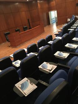 Auditorium preparations
