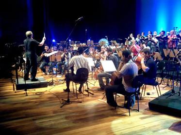 Ensaio com Maestro Kent Tritle (USA) - Auditório Ibirapuera - Filarmônica de São Carlos