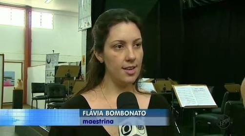 Maestrina Flávia Bombonato - Entrevista EPTV