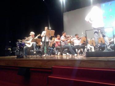 Fábio Zanon e Montanha com OFSC - Auditório Ibirapuera