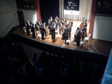 Concerto no Teatro do Sagrado em Marília - Filarmônica de São Carlos