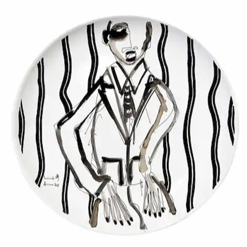 "ANTONIO MARRAS + KIASMO - PIATTO LIMITED EDITION ""PORTRAIT IV"""