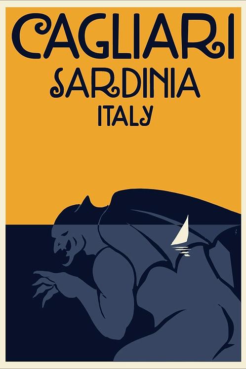 Poster Cagliari Sella Diavolo. Poster 2020 di Stefano Asili