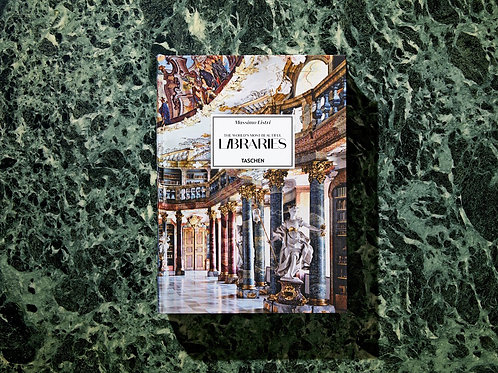 Massimo Listri THE WORLD'S MOST BEAUTIFUL LIBRARIES - Taschen