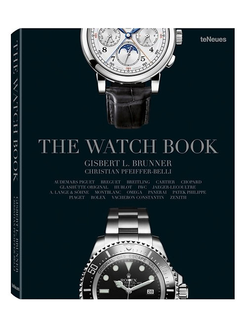 The Watch Book offers 18 brand biographies - Teneues