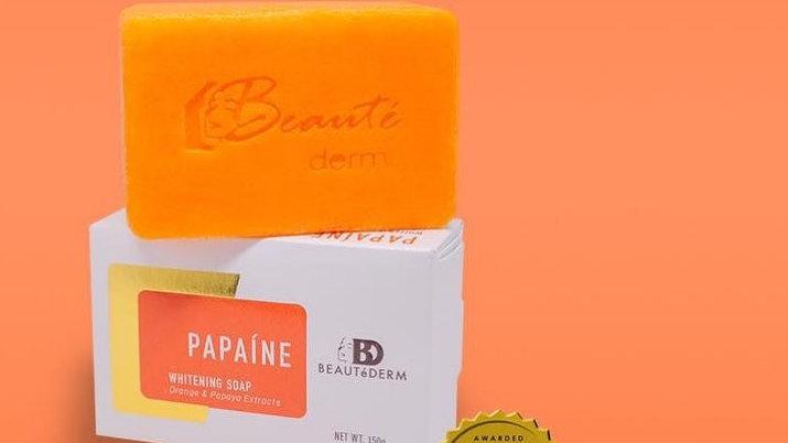 Papaine soap