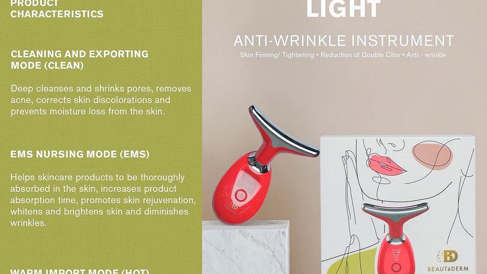 Intense pulsed light anti-wrinkle instrument