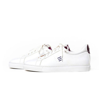 Powder Room x Andrew Kayla CRT LO Leather Sneakers