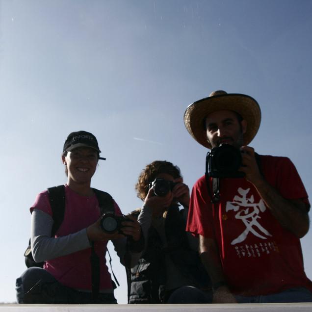 Zony Maya, Nuria Lagarde, Ales Prieto