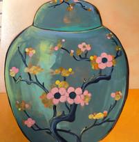 Occupied Japan Vase