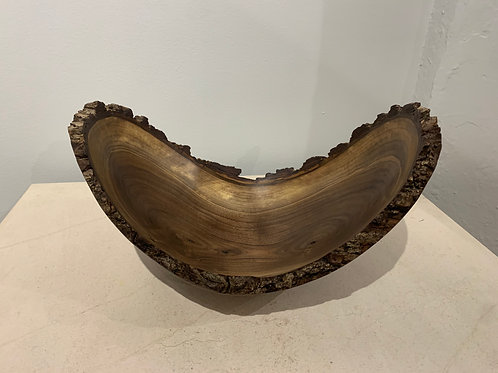 Walnut Bowl Live Edge