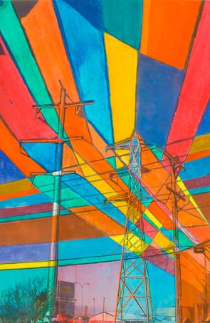 Pinwheel of  Paper