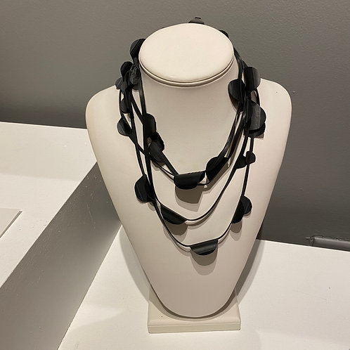 Necklace Made From Bicycle Parts