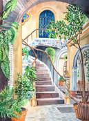 Antigua Staircase Acending