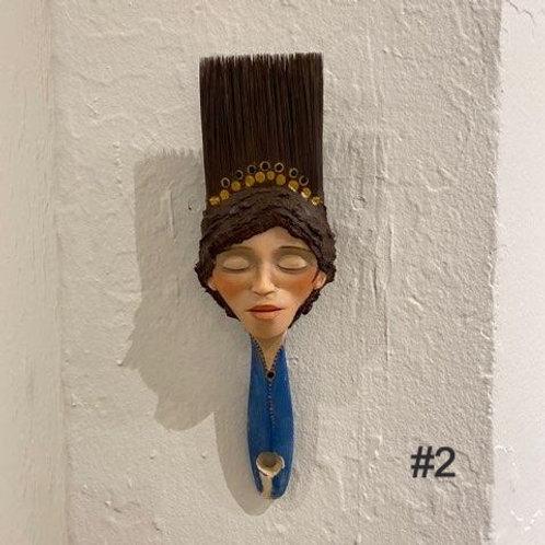 Paintbrush Sculptures