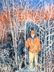 Man in Woods