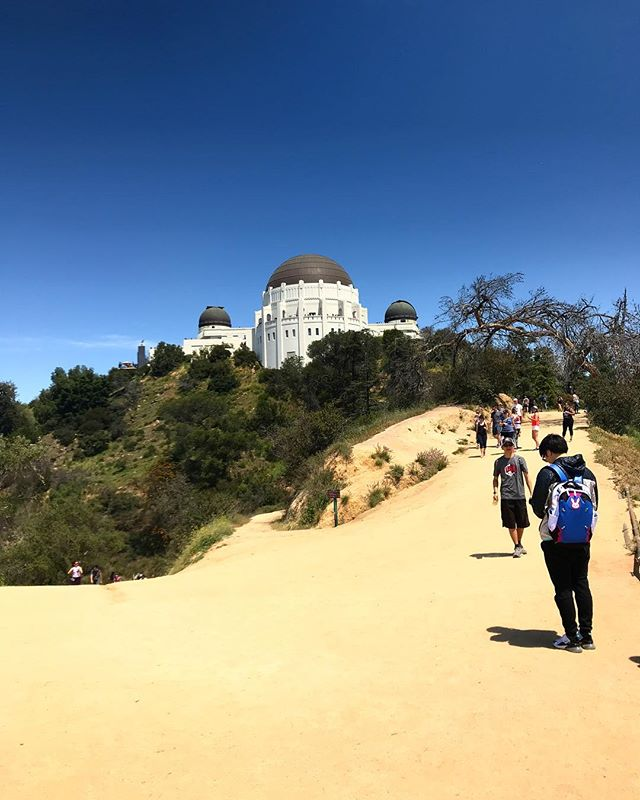 Griffith Park Observatory, weekend hikings