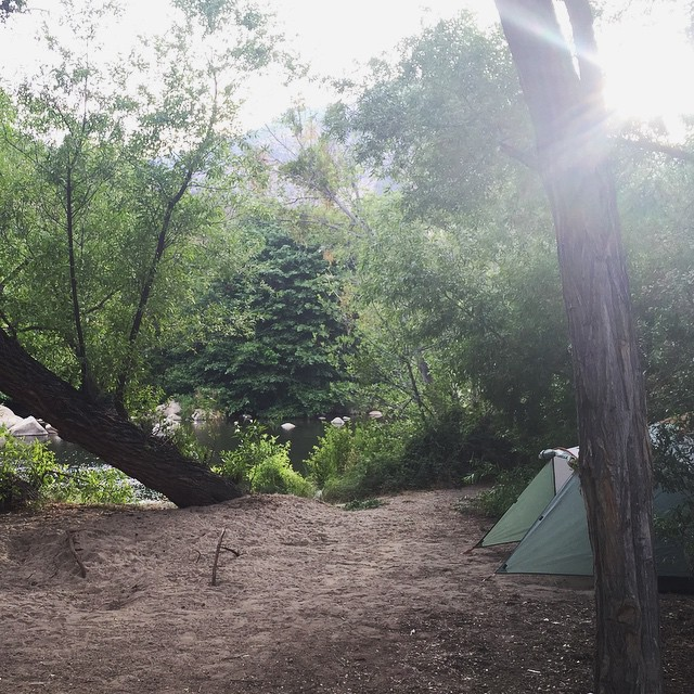 Headquarters Campground, Kernville Ca