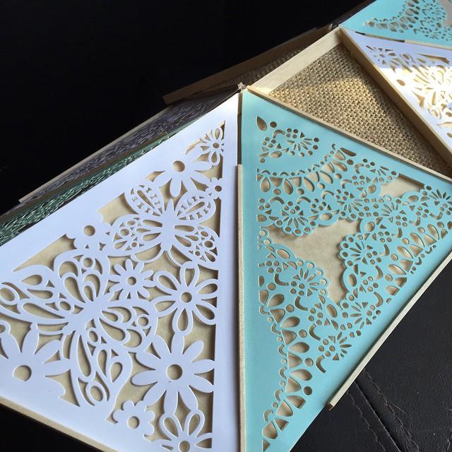 Handmade paper, wood, and cloth lantern #crafty #myartisticbliss