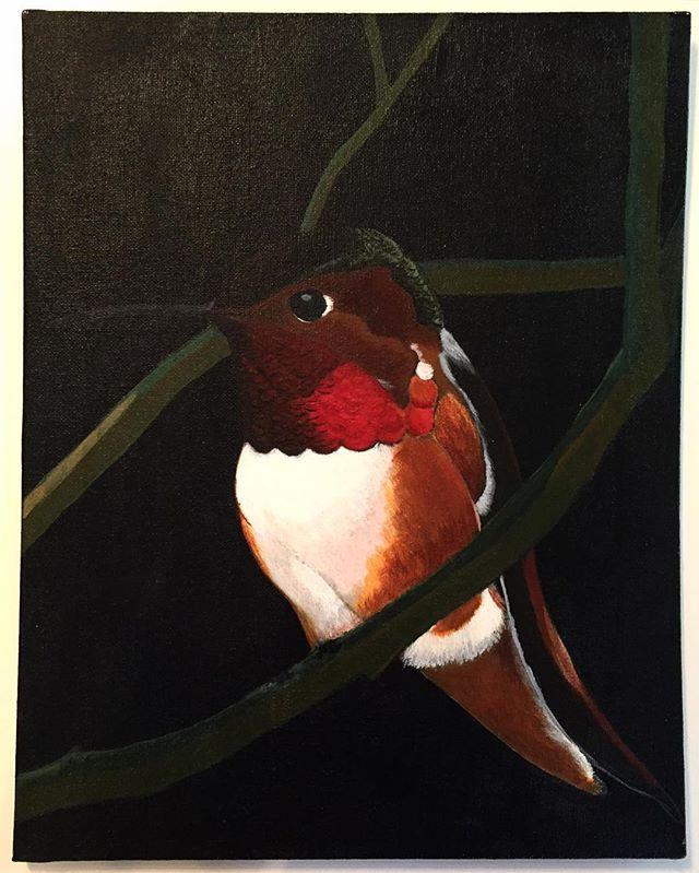 Unfinished #hummingbird