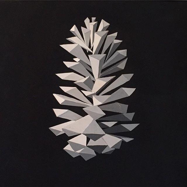#gouachepainting #pinecone #painting #art #gouache