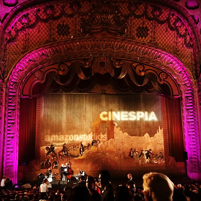 Ok, just a few more pictures from last nights awesome V-day date night at _cinespia in DTLA
