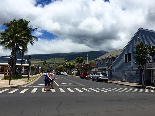 The view from Front Street, Lahaina