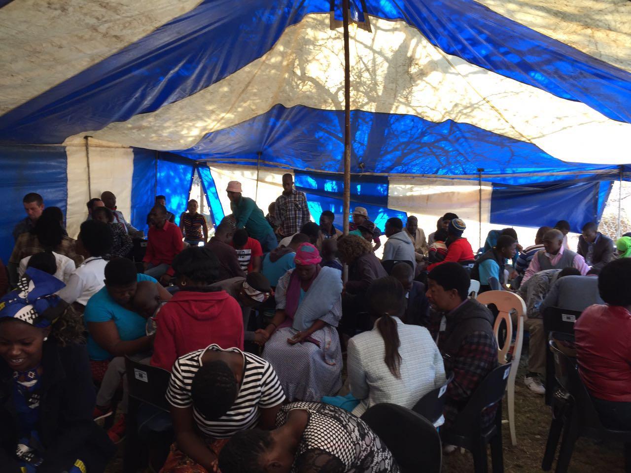 DBS groups gather at Jezreel