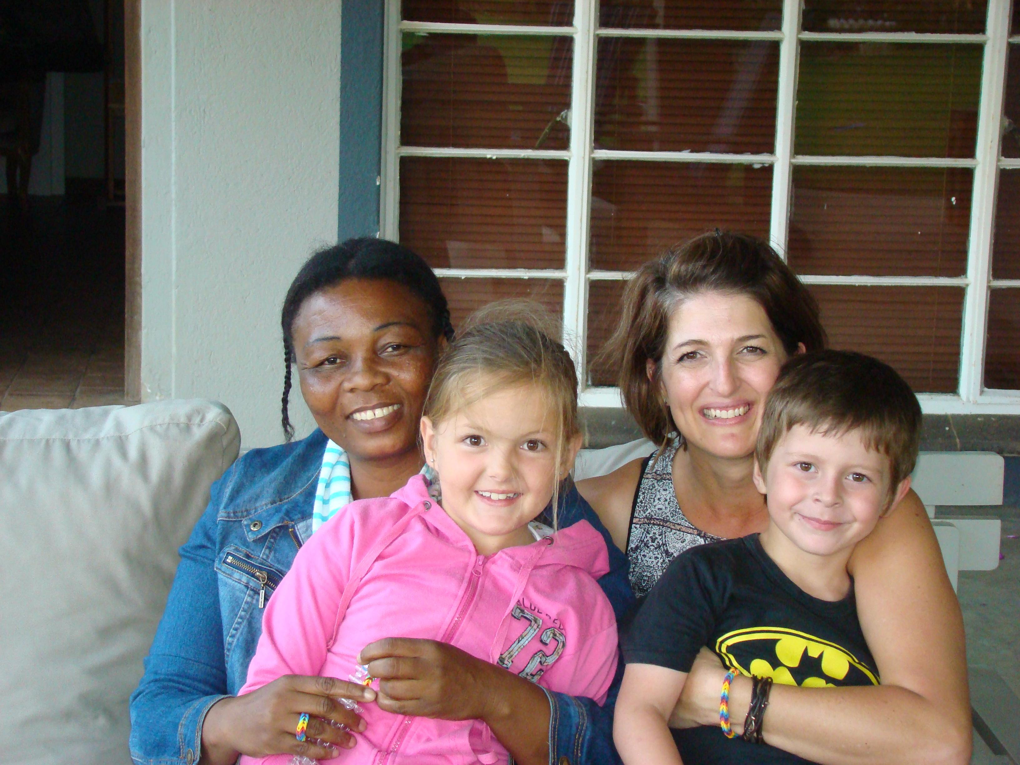 Thandi, Jodie, Mel & Ryan