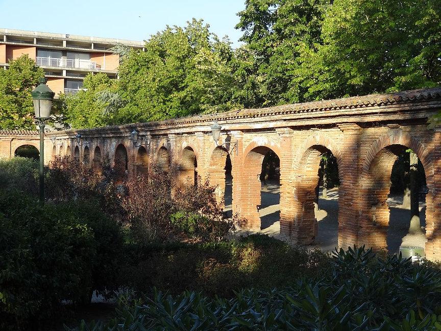 Triptyque patrimoine cloître Chartreux Toulouse [