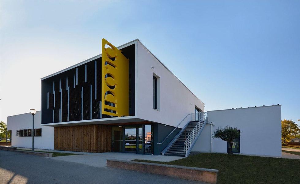 Triptyque architecture Dojo Muret