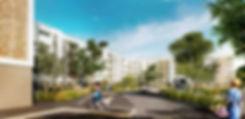 Triptyque architecture Résidence Le Parc à Colomiers