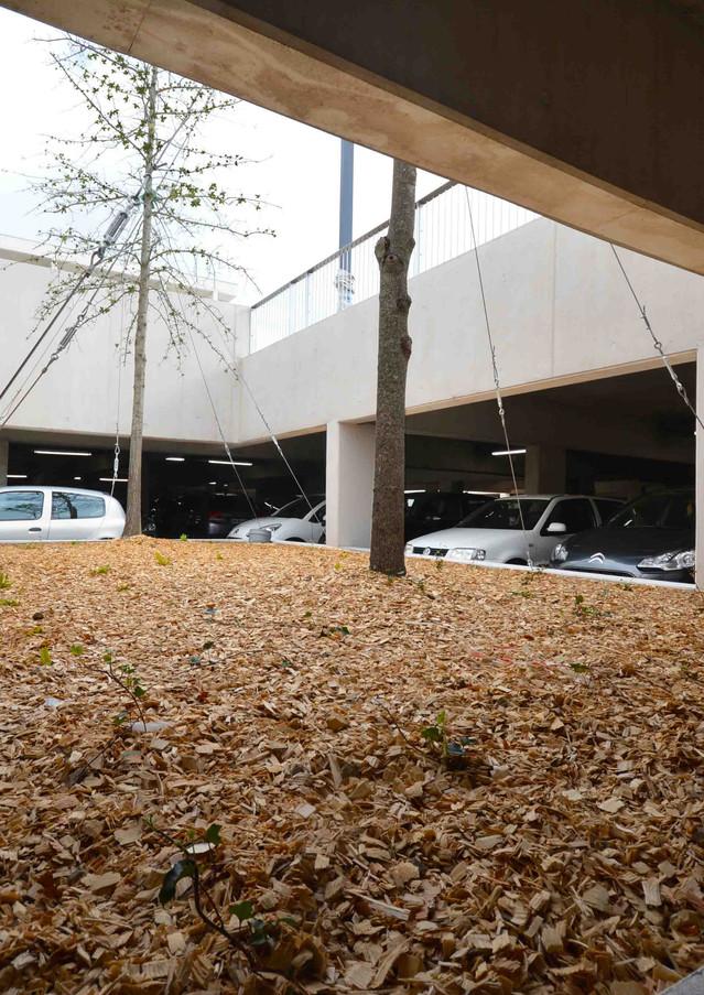 Parking souterrain de la place des Arts, Blagnac
