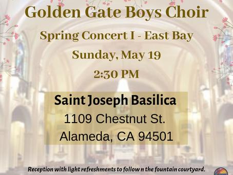 Spring Concert I (East Bay)