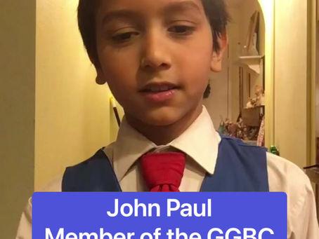 Meet JOHN PAUL!