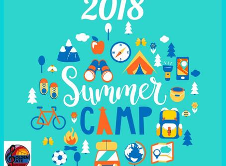 SUMMER CAMP Information Update