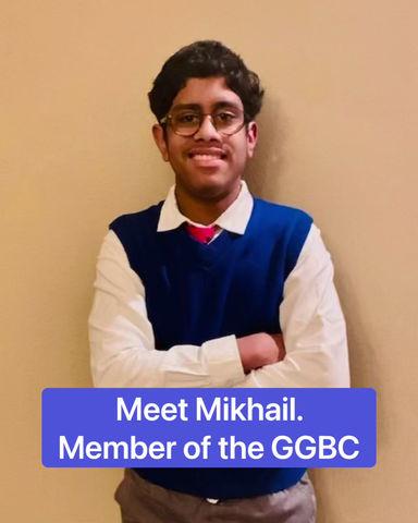 Meet Mikhail.
