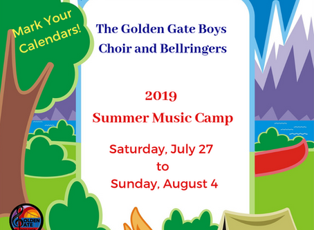 2019 Summer Music Camp
