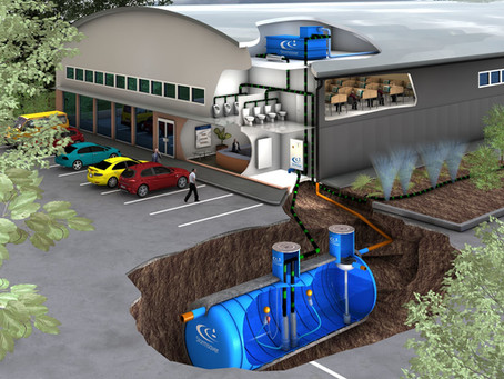 Captação de água da chuva para empresa: como funciona