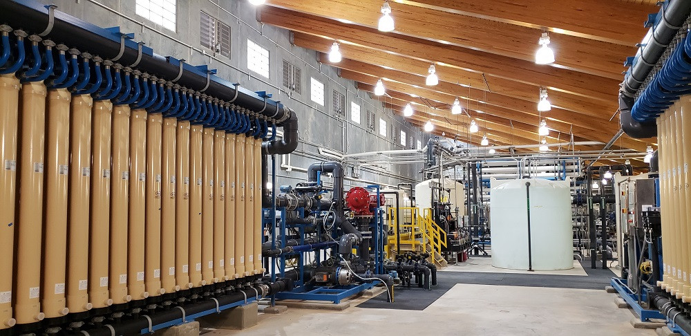 ETE para reuso de água na indústria