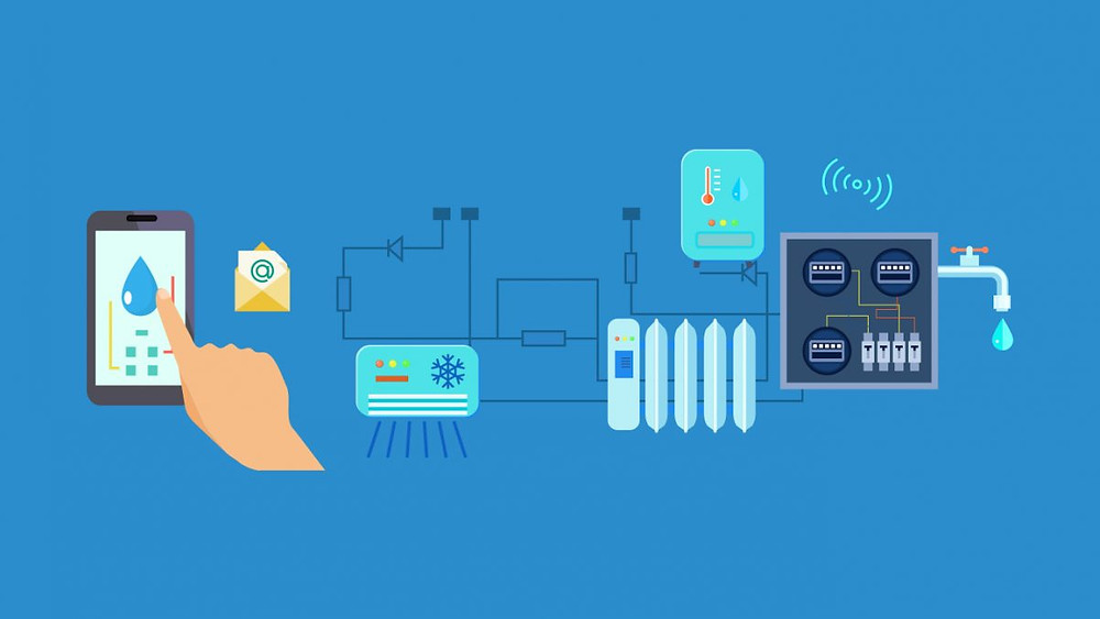 Sistema de telemetria e IoT para água e esgoto