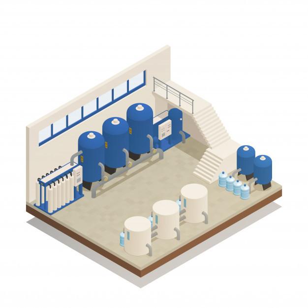 Estação de tratamento de efluentes compacta