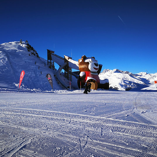 Peppi grüßt alle Skischulkinder