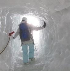 Erkunde den Gletscher