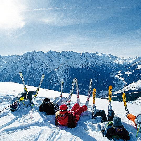 Entspannung beim Skifahren
