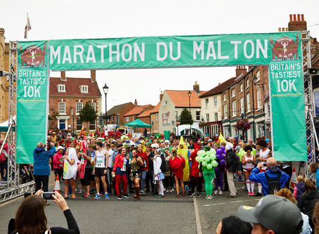 'Britain's Tastiest 10K' is back for another year in Malton, Yorkshire's Food Capita