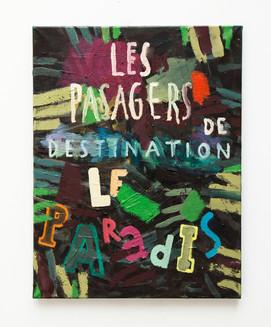 'Les pasagers de destination le paradis'