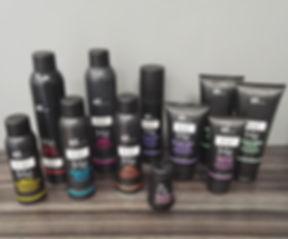 Id -Hair tuotesarja Parturi-kampaamo RosAnja