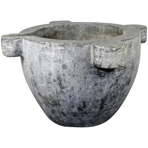 Big Mortar in Bluestone, 18th-19th Century, France