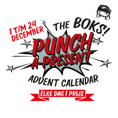 THE BOKS! PUNCH-A-PRESENT-ADVENT-CALENDER